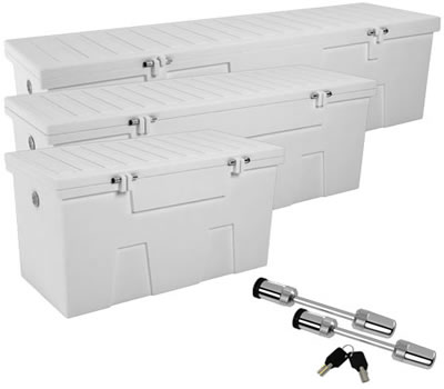 The Ideal Storage Solution Are Sturdy TitanSTOR Dock Boxes From  DockGear.com, With Rugged Construction And Tough Finishes.
