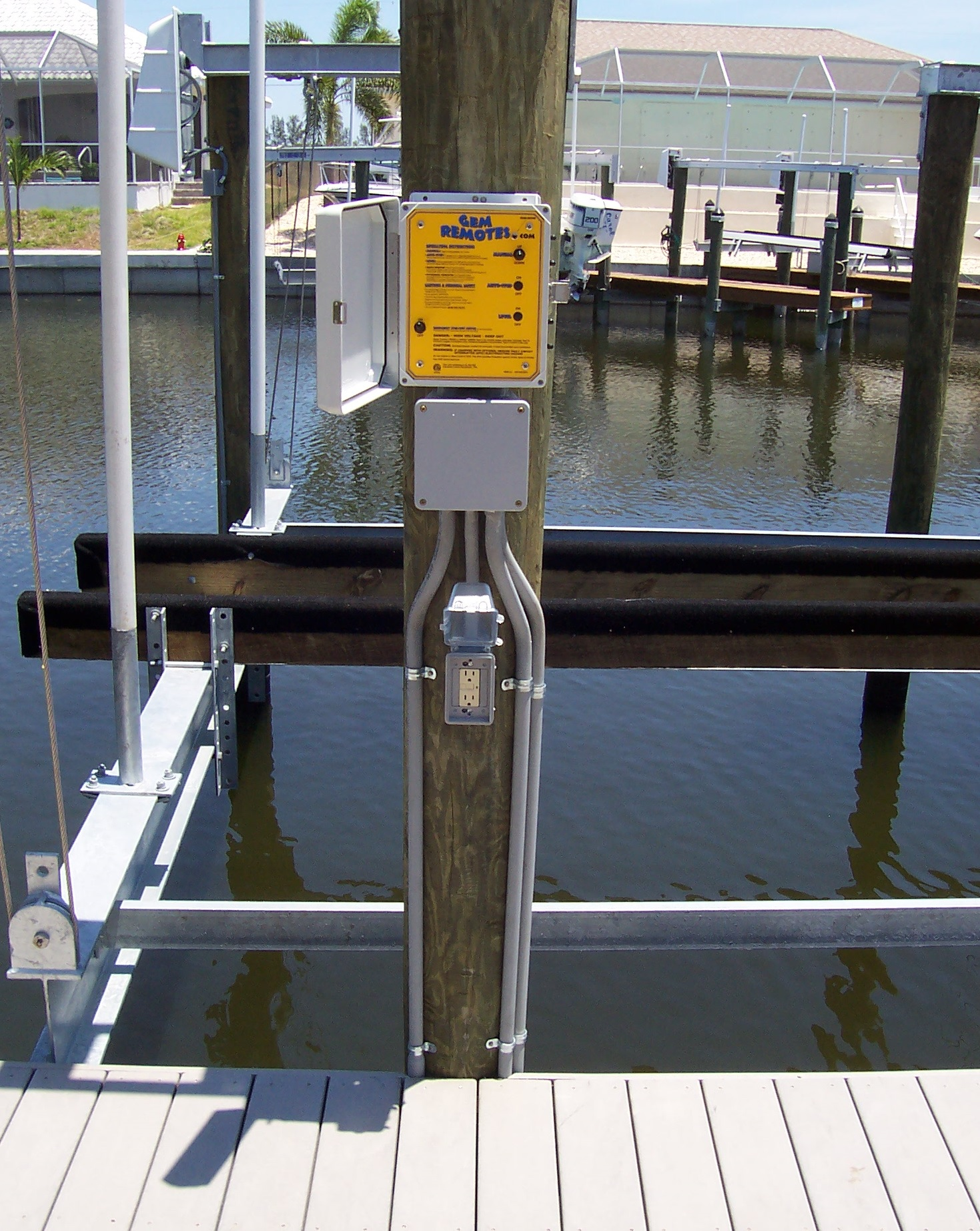 Automating Your Boat Lift With Gem Remotesdockgear Com