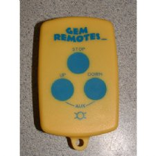 GEM 7240 Three Button Replacement Remote