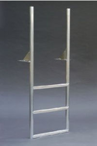 A1A 4 Step WIDE STEP Finger Pier Straight Dock Ladders