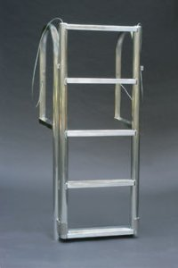 A1A 6 Step WIDE STEP Retractable Dock Ladders