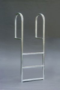 A1A 4 Step Straight Dock Ladders