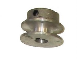 2 in. Cast Aluminum Drive Pulley