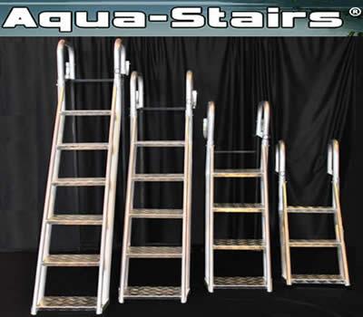 Aqua Stairs Angled Dock Ladders