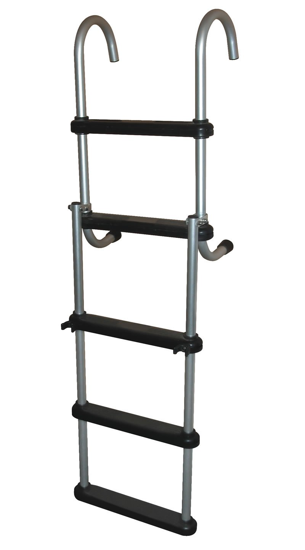 5 Step Removable Pontoon Ladders 5 Step Aluminum Folding