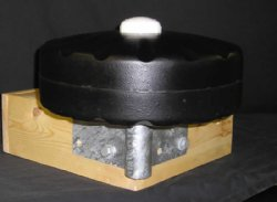 "12"" Solid Foam Dock Wheels, with CORNER Mount Hardware"