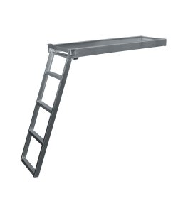 5 Step Round Front Under-Deck Pontoon Ladder