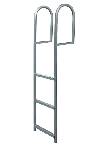 JIF Marine 3 Step Stationary Dock Ladder