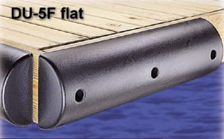 3ft Large Solid Foam Dock Bumpers, FLAT, for boats up to 70'