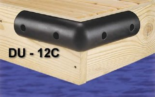 12 in. Small Foam Dock Corner Bumpers, for boats up to 30'
