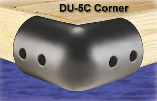 10 in. Large Foam Dock Corner Bumpers, for boats up to 70'