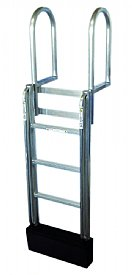 4 Step FLOATSTEP Aluminum Dock Ladders