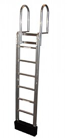 7 Step FLOATSTEP Aluminum Dock Ladders