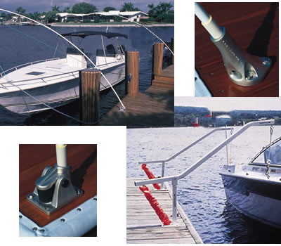 Dock Bumpers Dock Boxes Solar Dock Lights Marine