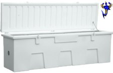 "LARGE TitanSTOR Roto-molded Dock Boxes, 24""W x 27""H x 86""L"