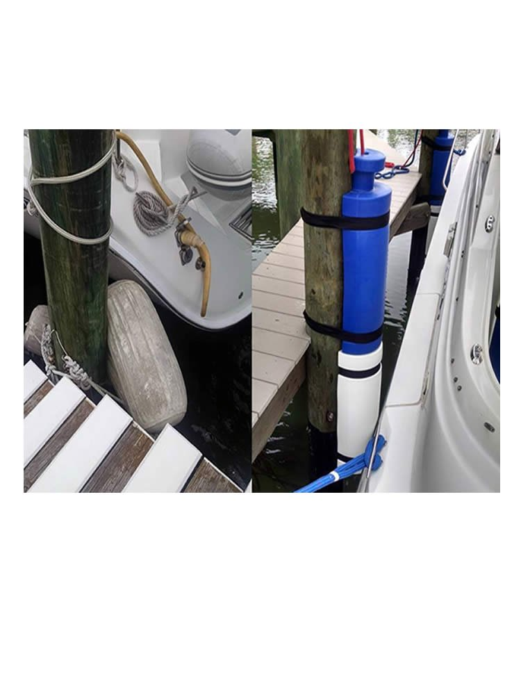 26 in. White Seahorse Piling Bumpers, 26in Seahorse Front ...