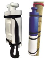 26 in. Seahorse Piling Bumpers with Straps, BLUE