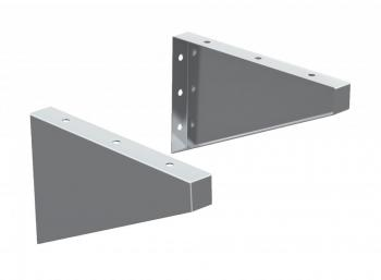 TitanSTOR Aluminum Offset Dock Box Brackets