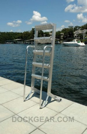 6 Step Wet Steps Dock Ladders