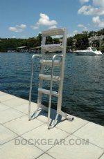 7 Step Wet Steps Dock Ladders