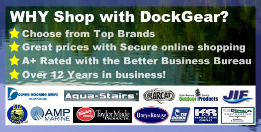 Secure Shopping for Boat Dock Accessories, Bumpers, Ladders and more