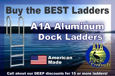 Buy Dock Ladders from A1A Dock Products